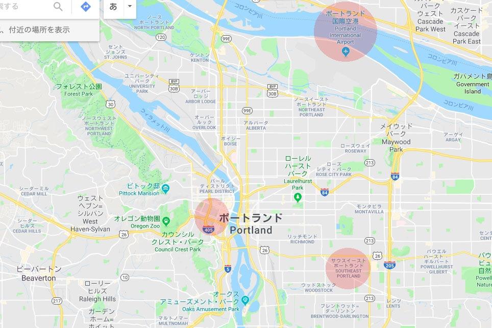 Portland-map-airbnb1(c)Megumi Mitani