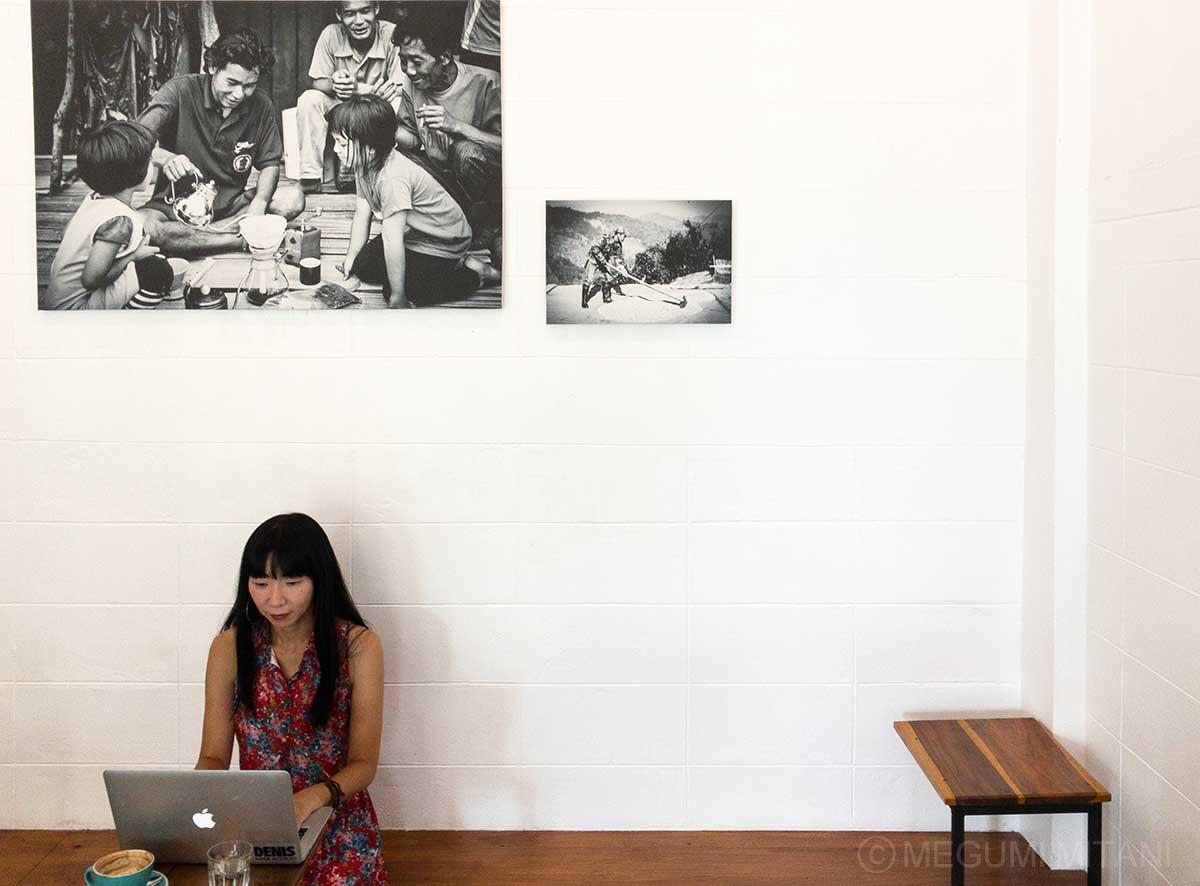 チェンマイのカフェ