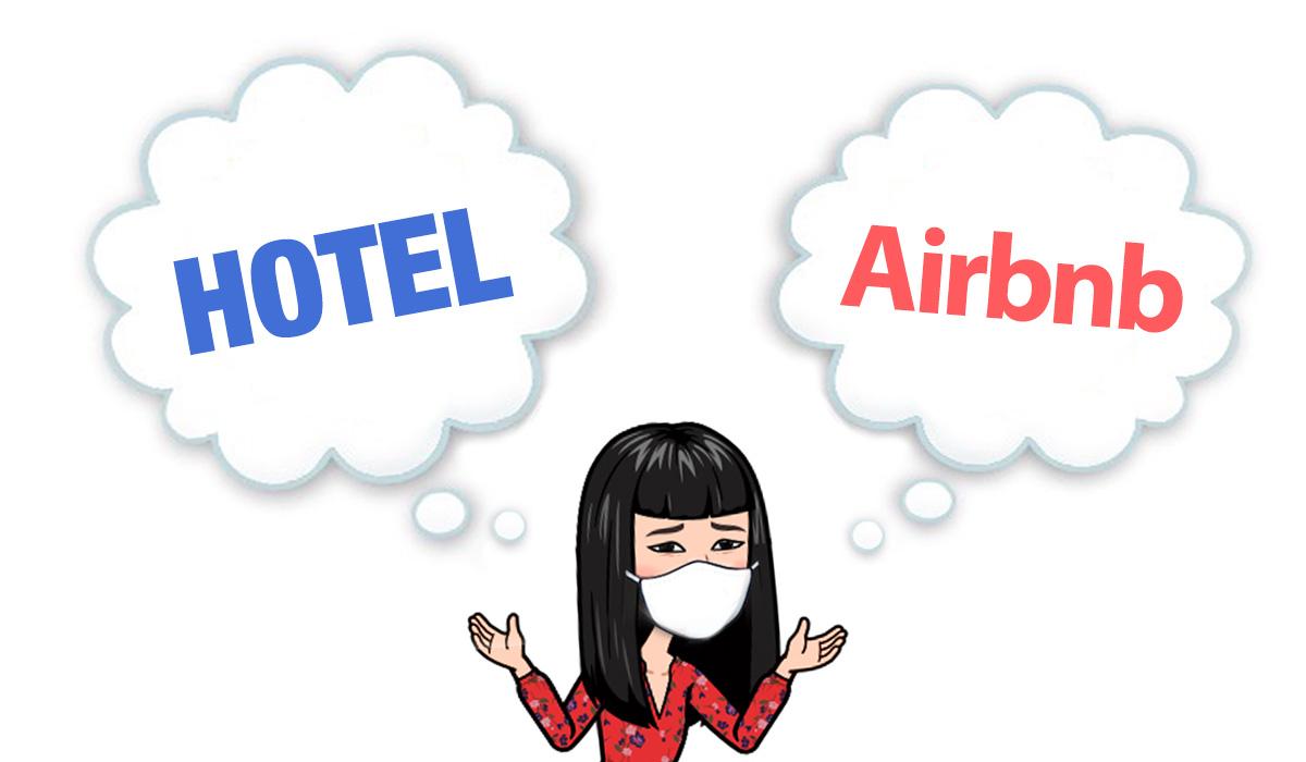 Hotel Or Airbnb with Coronavirus(c)Megumi Mitani