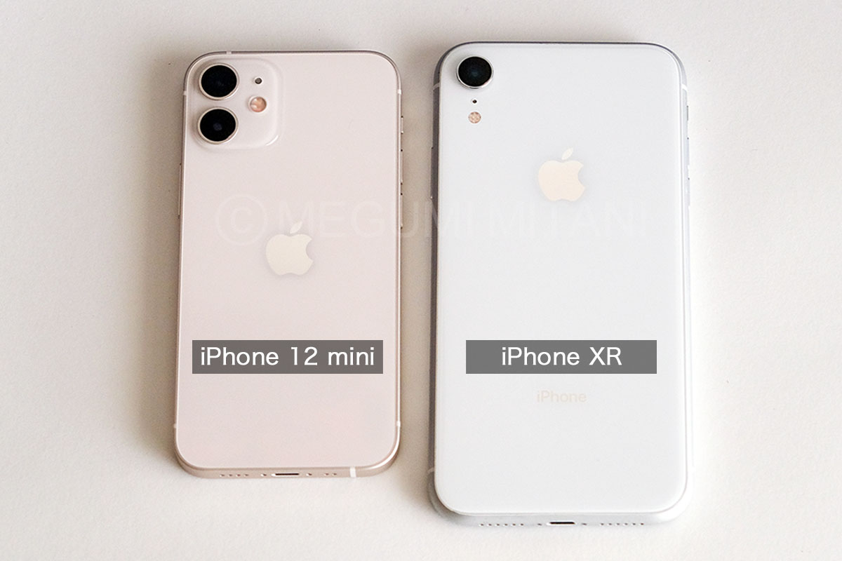 iPhoneXR-12mini-size