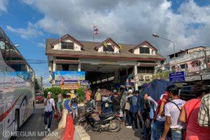 タイとミャンマーの国境(c)Megumi Mitani